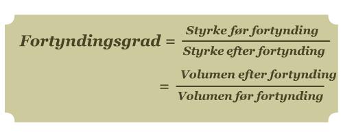 Grafik af formel
